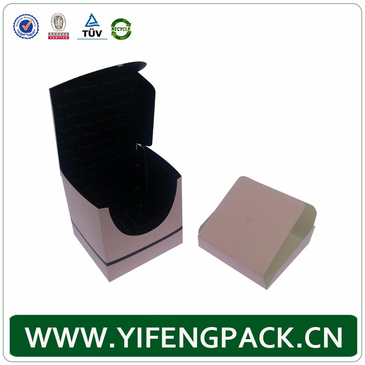 Customized printed facy Custom paper cosmetic gift box wholesale