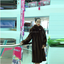 Y15A001 Real Sable Fur Coat