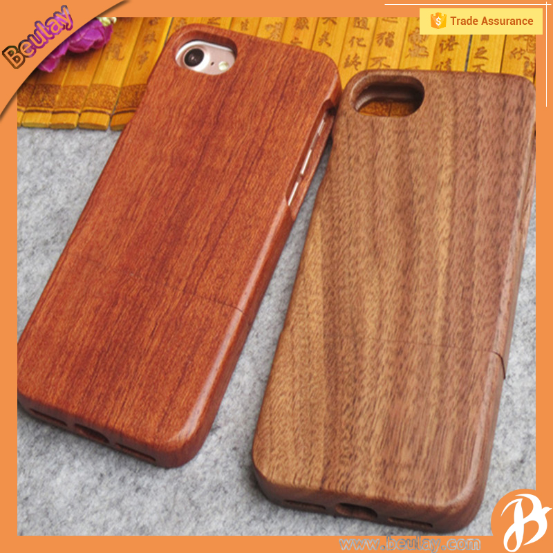 For iphone7 plus pure wood case latest 5g mobile phone cover