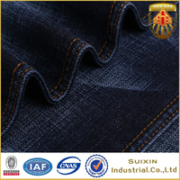 2016 heavy cotton spandex twill denim fabric