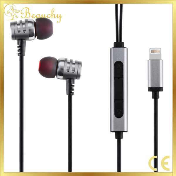 Beauchy New 8 pin headphone for iPhone7 light earphone for iPhone 7