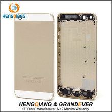 Factory Manufacturer For iPhone5S Rear Frame Back Cover , For iPhone 5S Housing