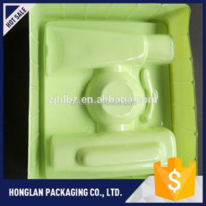 Latest eco-friendly blister tray package for cosmetic wholesale