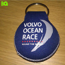 neoprene floating key chain of car key