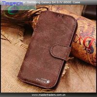 Golden Phoenix Leather Case for Samsung Galaxy S4 i9500 MT-0885
