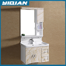 Sales Promotion Easy Install with Bright Color PVC Bathroom Vanity