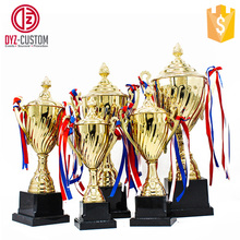 gold plating metal award trophy Custom Sports Events award trophy
