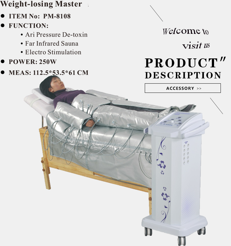 china pressotherapy machine for sale electro stimulation skin tightening equipment ems air pressure belly
