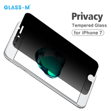 Mobile Phone Use Anti-spy Dark Screen Protector for iPhone 7