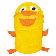 The collapsible cartoon admission barrel,Laundry Hamper,Storage basket