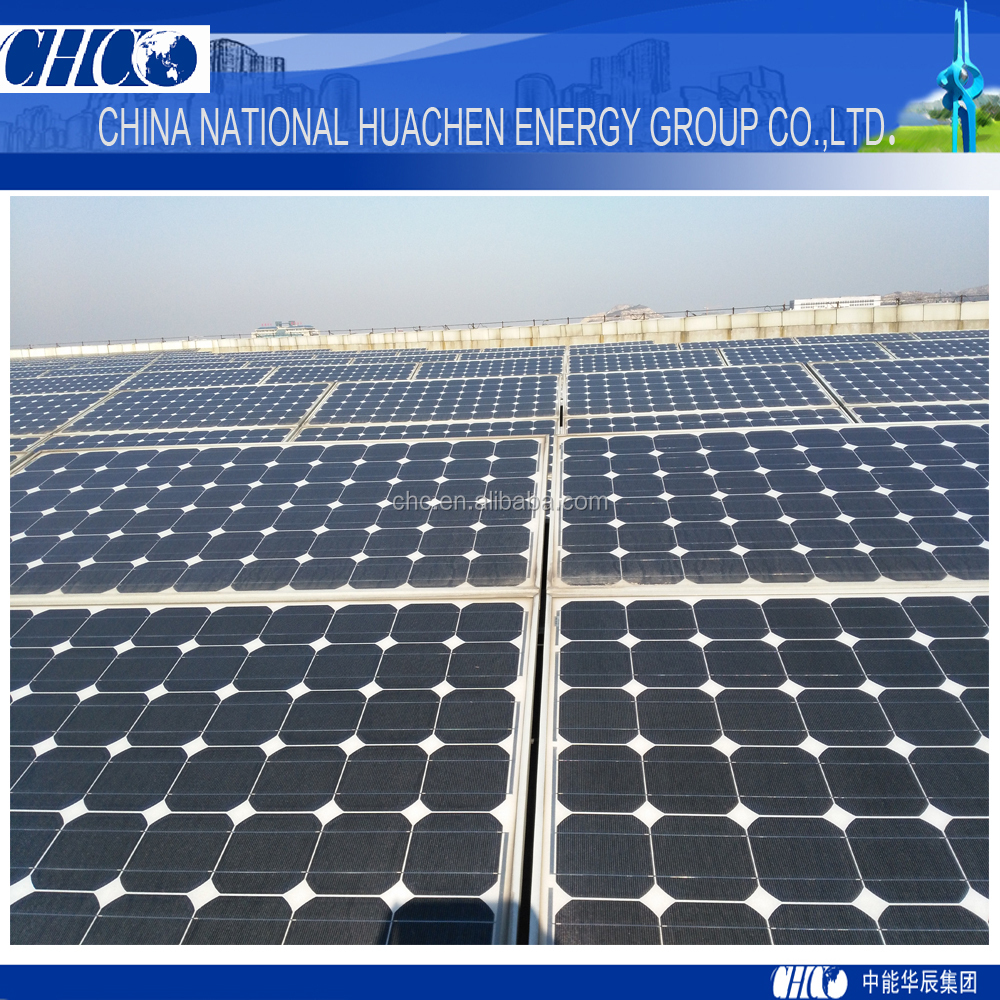 CHC high quality easy install single axis solar tracker system