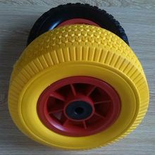 wheelbarrow low price pu foam solid tire