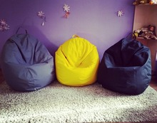 Pear shape living room lazy beanbag chair