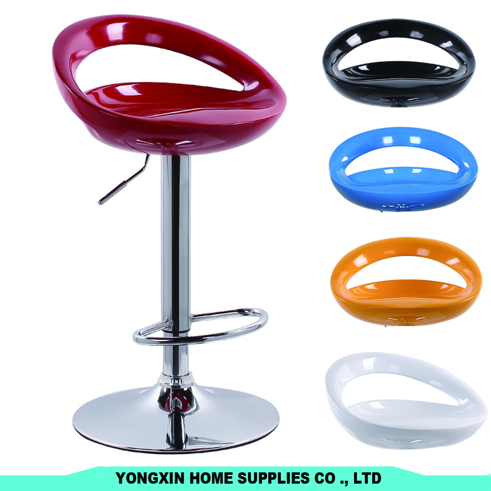 Hot Sale High ABS Plastic Seat Bar Stool