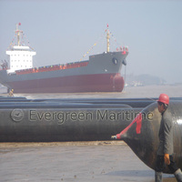 Evergreen Ship Launching Airbags For Marine