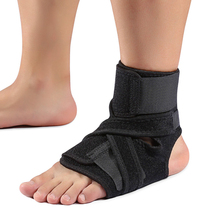 Sports protection of Black blue Elastic Ankle Brace and ankle protector