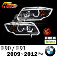 Auto car led headlamp assembly for BMW E90 E91 3-SERIES Made in Taiwan