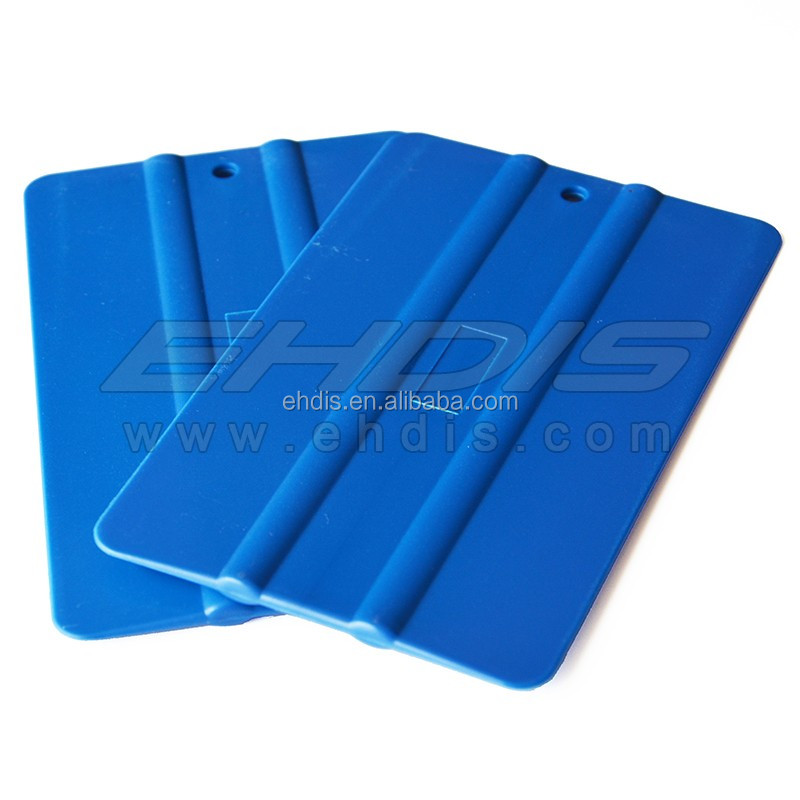 Wholesale wrap tools for wrap window tint film car window plastic scraper squeegee can print logo