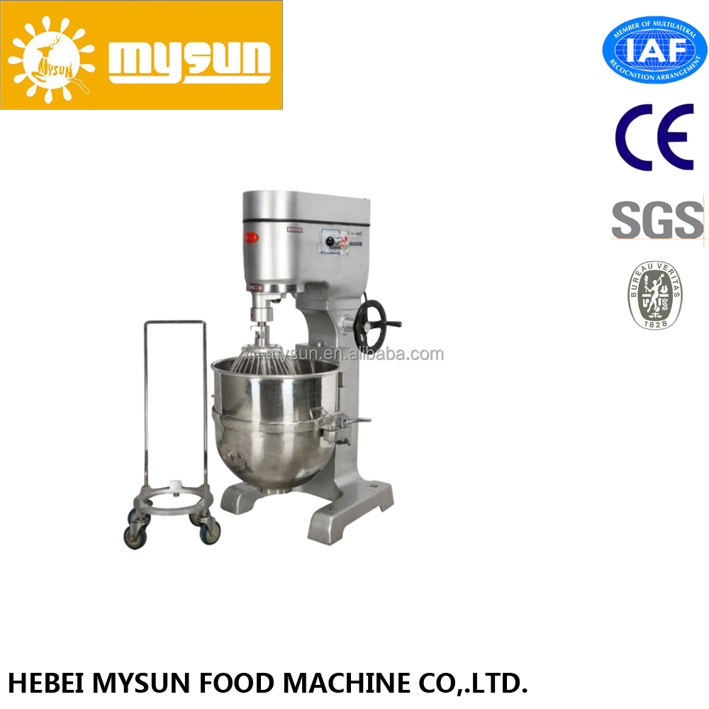 60 quart stainless steel bowl capacity 3-speed Commercial Precision Planetary Mixer
