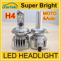 IP68 Best quality All in one led headlight h4-hi lo beam replace to HID Halogen!