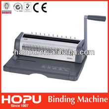 HP office equipment wire spiral binding machine for sale