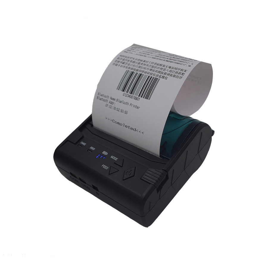 WD-80GN Mobile Small Bluetooth USB Powered Thermal Receipt Printer