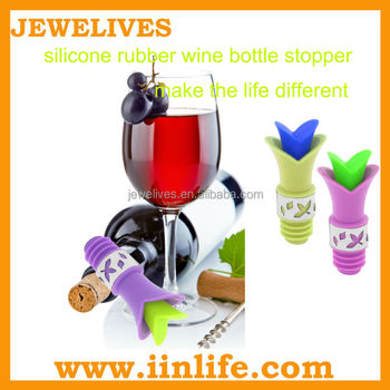 silicone rubber wine bottle stopper
