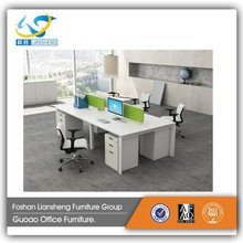 Stand Sizes 4 person Office Modular Workstation LB-LSD-06B