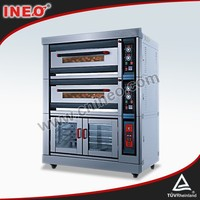 Deck Type Commercial Industrial Bakery Bread Electric Baking Oven