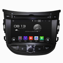 high quality factory price touch screen quad core android4.4 car dvd player for HB20
