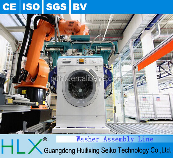 Home appliance assembly line/washing machine assembly line system