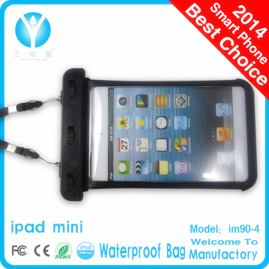 Hot sell Waterproof Protective Bag for iPad Mini Water Skin Cover Pouch Sleeve New