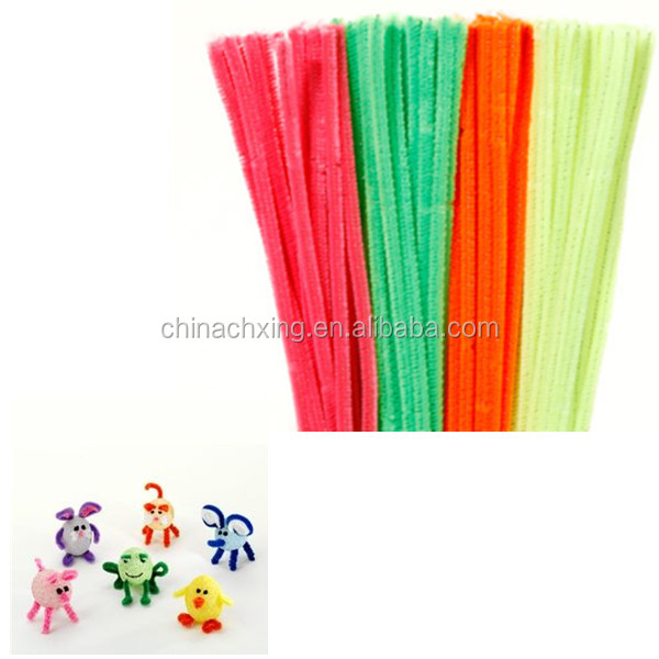 Multi Color Bumpy Chenille Stems Pipe Cleaners for DIY Art factory price