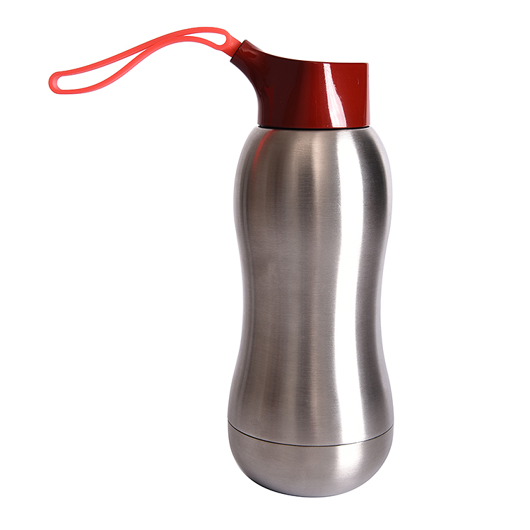 350ML double wall stainless steel water bottle