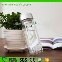 China Wholesale 300ml Borosilicate Glass Tea Bottle Water Bottle with Filter Handmade Glassware OEM