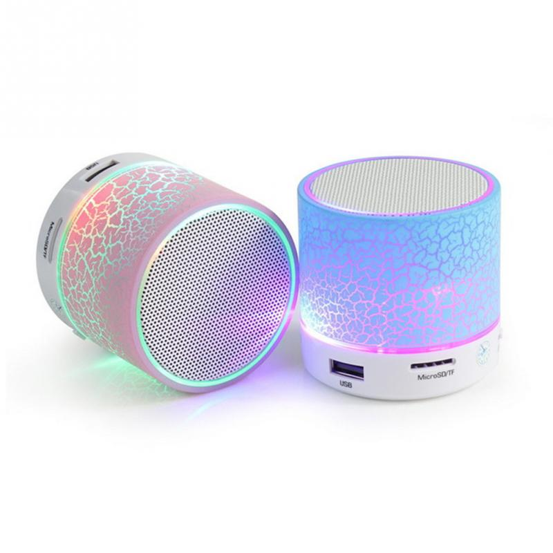 MINI Wireless Bluetooth Speaker USB speakers Portable Music Sound Box LED Speaker