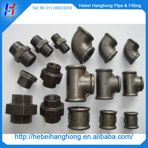 3 4 Inch Wrought Cast Iron Handrail Floor Flanges Pipe