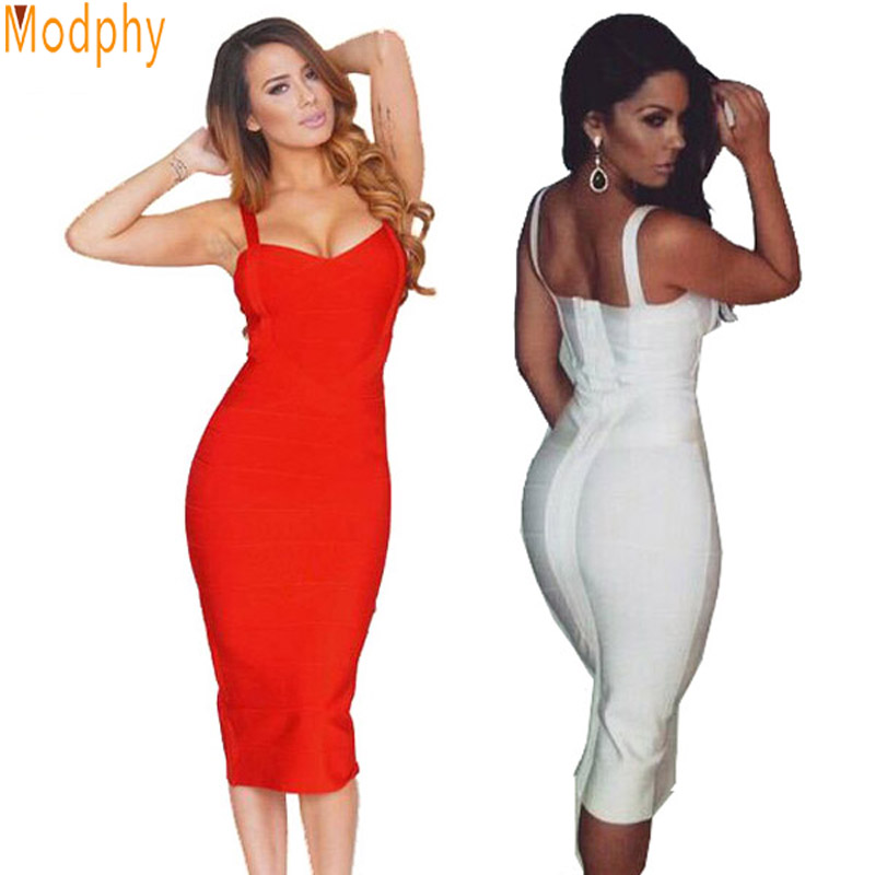 2016 women rayon celebrity evening party wholesale hl bandage dress sexy strap busty midi dress lady prom cocktail dresses HL434
