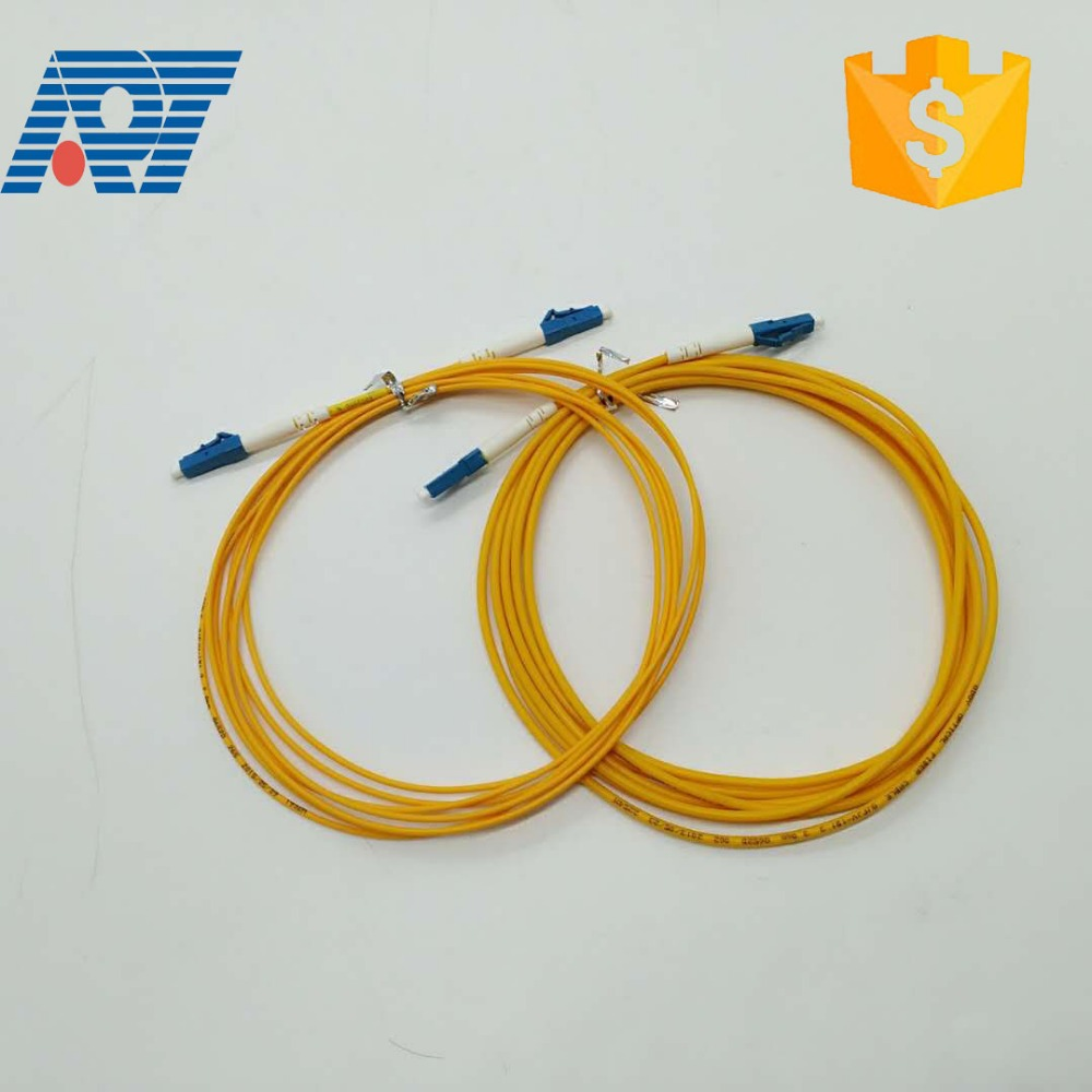 Manufacturer price simplex / duplex optical patchcords single mode patch cord fiber optic lc to lc patch cord