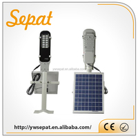 China all in one solar street light 6w/12w/15w/18w/20w/25w/30w/40w/50w