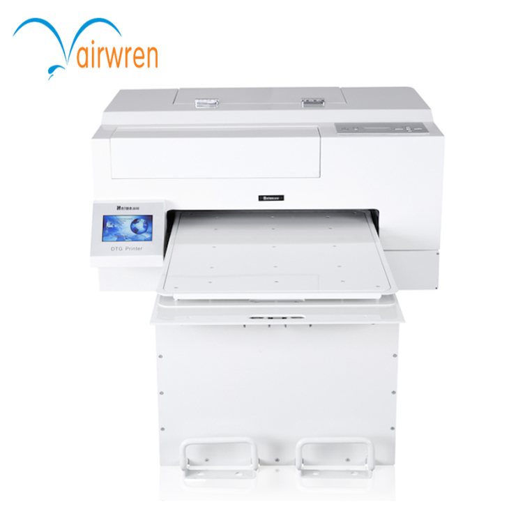Cloths Printer Usage and Flatbed Printer direct to garment printer