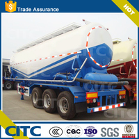 Dry Powder Material Transport Bulk Powder Tanker