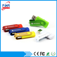 Shenzhen Supply Promotional Gifts Swivel Bulk 1GB USB Flash Drive