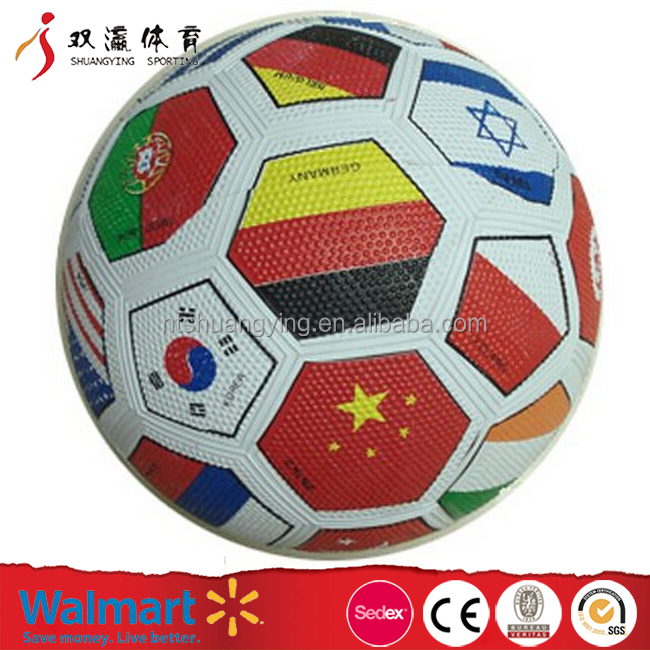 custom cheap special design popular Laminated light soccer ball with kids