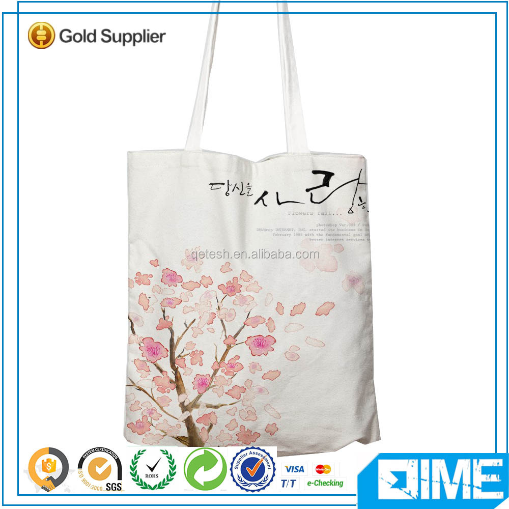 Gifs Bag Personalized Cotton Canvas Promotional Cotto Tote Bag