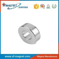 Bulk Sale Strong Sintered Neodymium Ring Magnetic Low Loss Magnet From China
