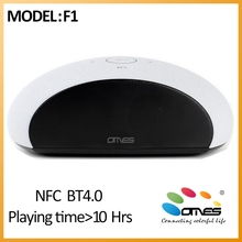 High End Brand OMES 2016 New Model F1 Stereo Bluetooth Speaker, Wireless Speaker