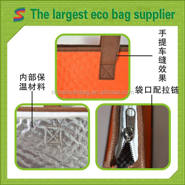 Spunbonded Nonwoven Shopping Bag European Non Woven Bags
