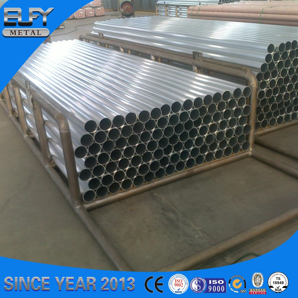 Best stock schedule 80 galvanized steel pipe different types of pipes 46mm steel tube