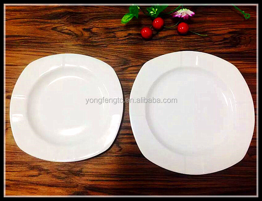 YF13133 low price porcelain serving plate ready for immediate shipment